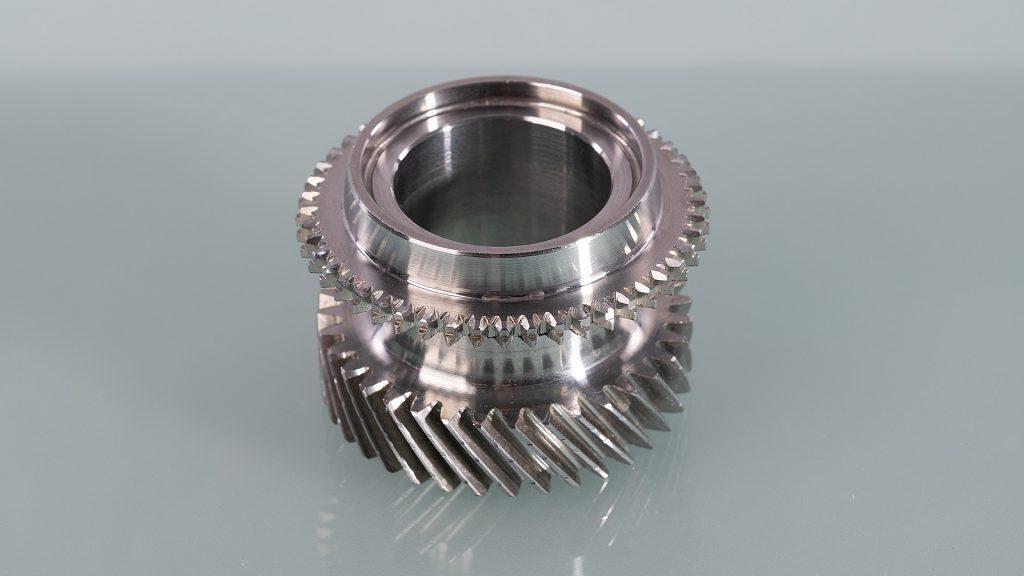 Nutzfahrzeug Getriebeteil - gefertigt aus Schmiederohling