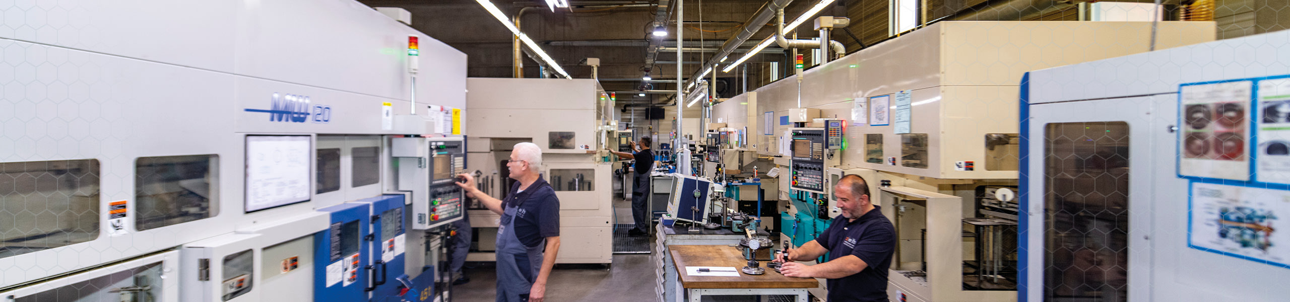 Zeh Präzision Maschinengang - Produktion