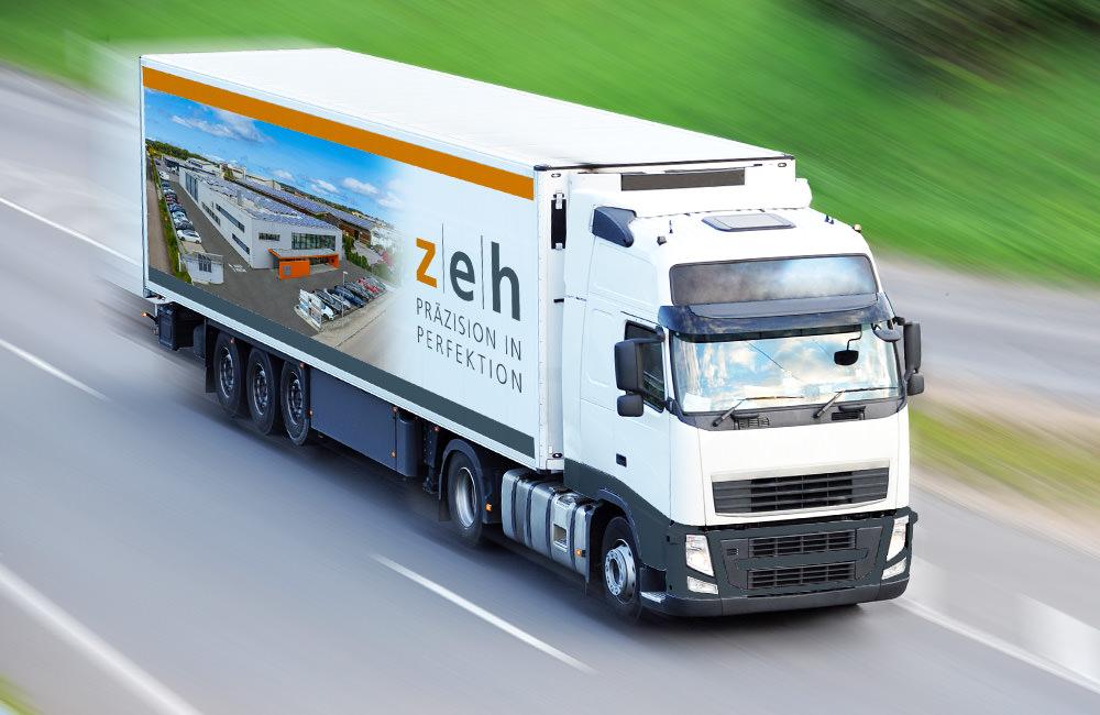 Zeh Präzision verfügt über eine eigene Versand- und Logistikabteilung