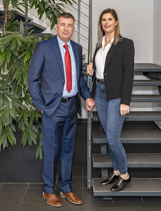 Dieter Zeh und Tochter Jennifer Zeh